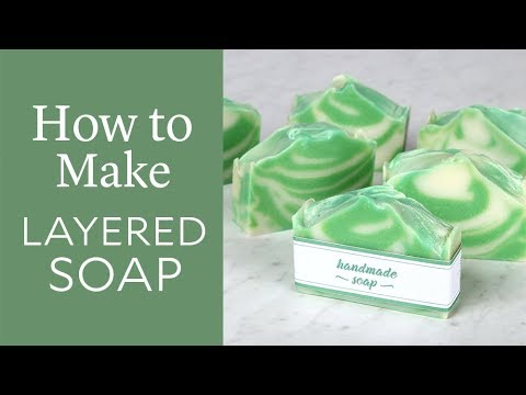 Layered Handmade Soap Kit - Complete Kit