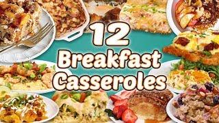 12 Easy Breakfast Casseroles | Casserole Recipe Compilation