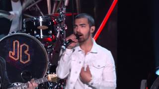 Jonas Brothers Neon Live at Miss USA 2013