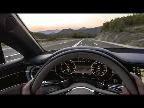 [4k] POV NEW Bentley Continental GT and the Bentley Rotating Display