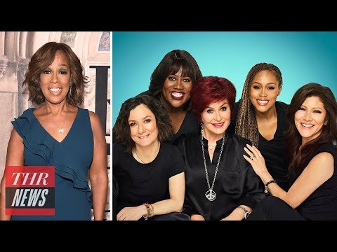 , title : 'Gayle King, 'The Talk' Hosts Slam CBS Over Les Moonves Investigation | THR News'