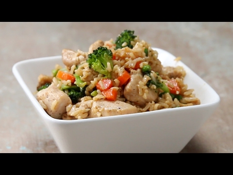 Easy, Healthy Fried Rice