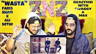 WAASTA | Faris Shafi X Ali Sethi | Reaction Video | Swaggy X MAX | SQuaD ZNZ