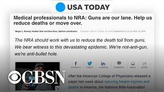 #ThisIsOurLane: Doctors push back on NRA over gun debate