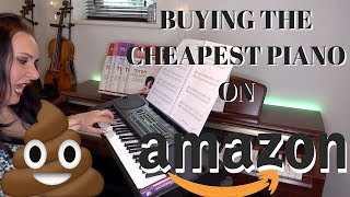 Buying the CHEAPEST piano on AMAZON for $50 - is it any good??