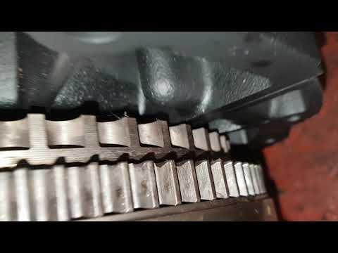 ford transit timing chain slip tensioner collapse - смотреть