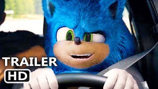 "SONIC THE HEDGEHOG ""Sonic plays Vin Diesel"" Trailer (2020) Funny Movie HD"