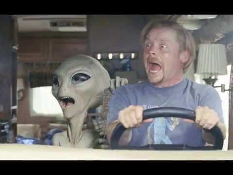 Real Alien + UFO Caught on tape 2011