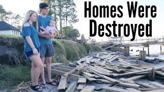 Hurricane Michael: Assessing The Damage...   Teen Mom Vlogs
