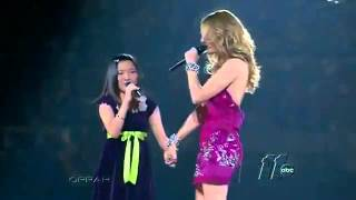 Charice Pempengco & Celine Dion- Because you l