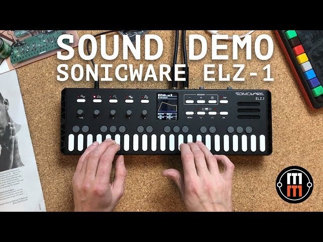 Sonicware ELZ 1 sound demo (no talking)
