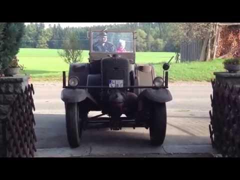 35er Eilbulldog Fahrt zum Treffen Lanz Bulldog