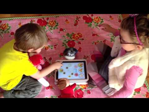 Screenshot of video: Toca Tea Party