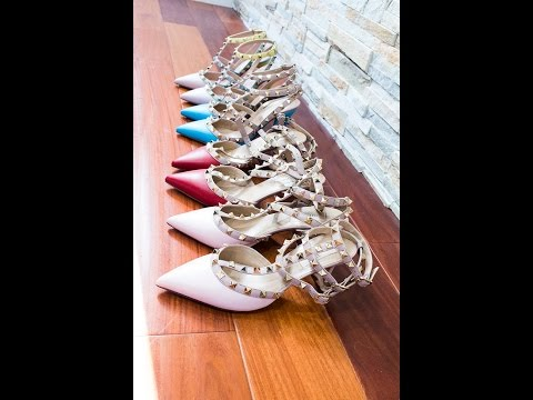 Wear & Tear Review : Valentino Rockstud heels (Size, Comfort)