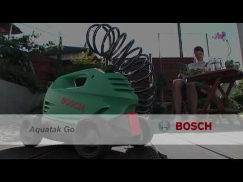 Bosch Aquatak Go Pressure Washer Product Video