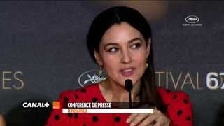 """Cannes 2014 - Monica Bellucci : """"I'm very please to be on Earth still"""""""