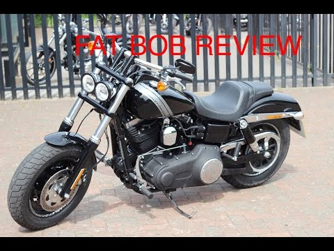 Harley Davidson 2016 Fat Bob first ride review