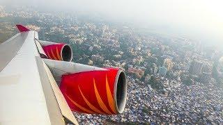 Air India Boeing 747-400 | STUNNING Take-off From Mumbai International Airport