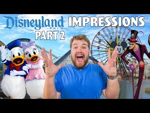 Disneyland Impressions Part 2
