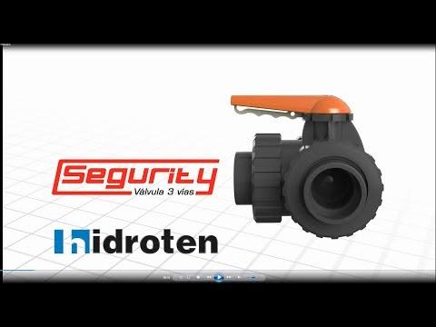 3-Way ball valve Segurity
