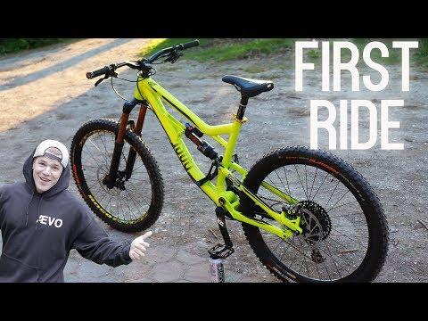 MEIN NEUES FREERIDE BIKE: FIRST RIDE! Rose Bikes SOULFIRE