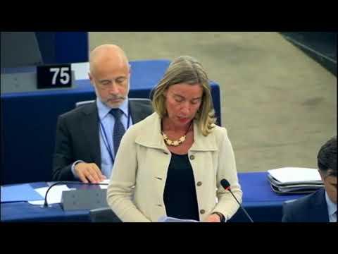 Unión Europea celebra uso de la diplomacia para resolver crisis entre EEUU y Corea del Sur