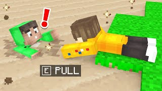 SAVING Jelly From Quicksand In Minecraft!