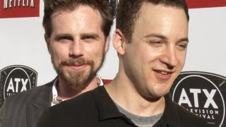 Boy Meets Worlds Ben Savage & Rider Strong Reunite On The ATX Red Carpet To Talk Girl Meets World!