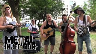 "LED ZEPPELIN ""Black Dog"" Hillbilly Version by STEVE N SEAGULLS | Metal Injection"