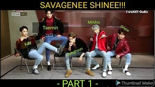 Gambar cover SHINee Savage Moments (PART 1) 🔥🔥🔥