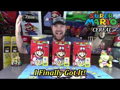 Super Mario Cereal Review!