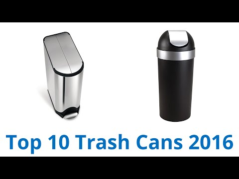 10 Best Trash Cans 2016