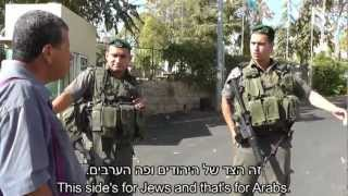 """Jews Here, Arabs There"" Israeli Apartheid in Action"