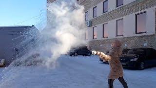 Замёрзнет ли кипяток в мороз