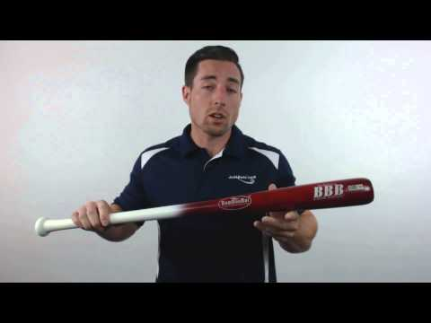 BamBooBat Bamboo Wood Baseball Bat: HWBR100M Adult