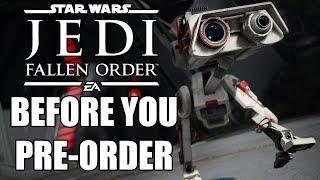 Star Wars: Jedi Fallen Order - 13 NEW Things You NEED To Know Before You Pre Order
