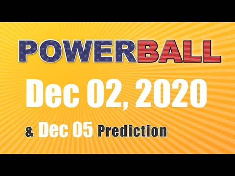 Winning numbers prediction for 2020-12-05|U.S. Powerball