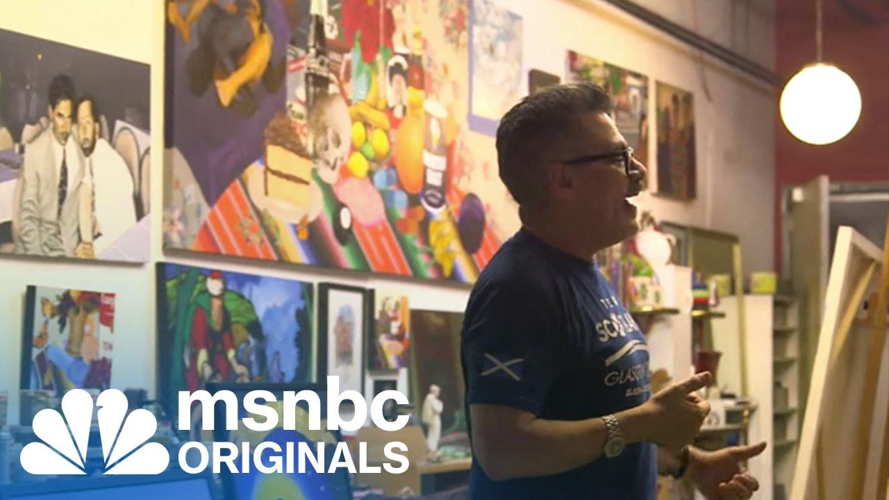 Gay, Latino and HIV+: Activism Through His Art | Originals | msnbc thumbnail