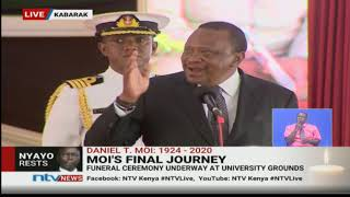 President Uhuru re-launches Moi's last hospital project in Kabarak