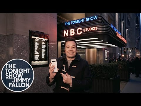 Download Jimmy Kicks Off a Tonight Show Episode Filmed Entirely on the Samsung Galaxy S10+ Phone Mp4 HD Video and MP3