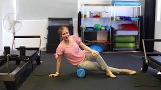 GLUTES ON THE FOAM ROLLER - with Physiotherapist, Bess Wilkins