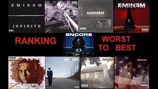 Ranking The Eminem Albums w/ Revival