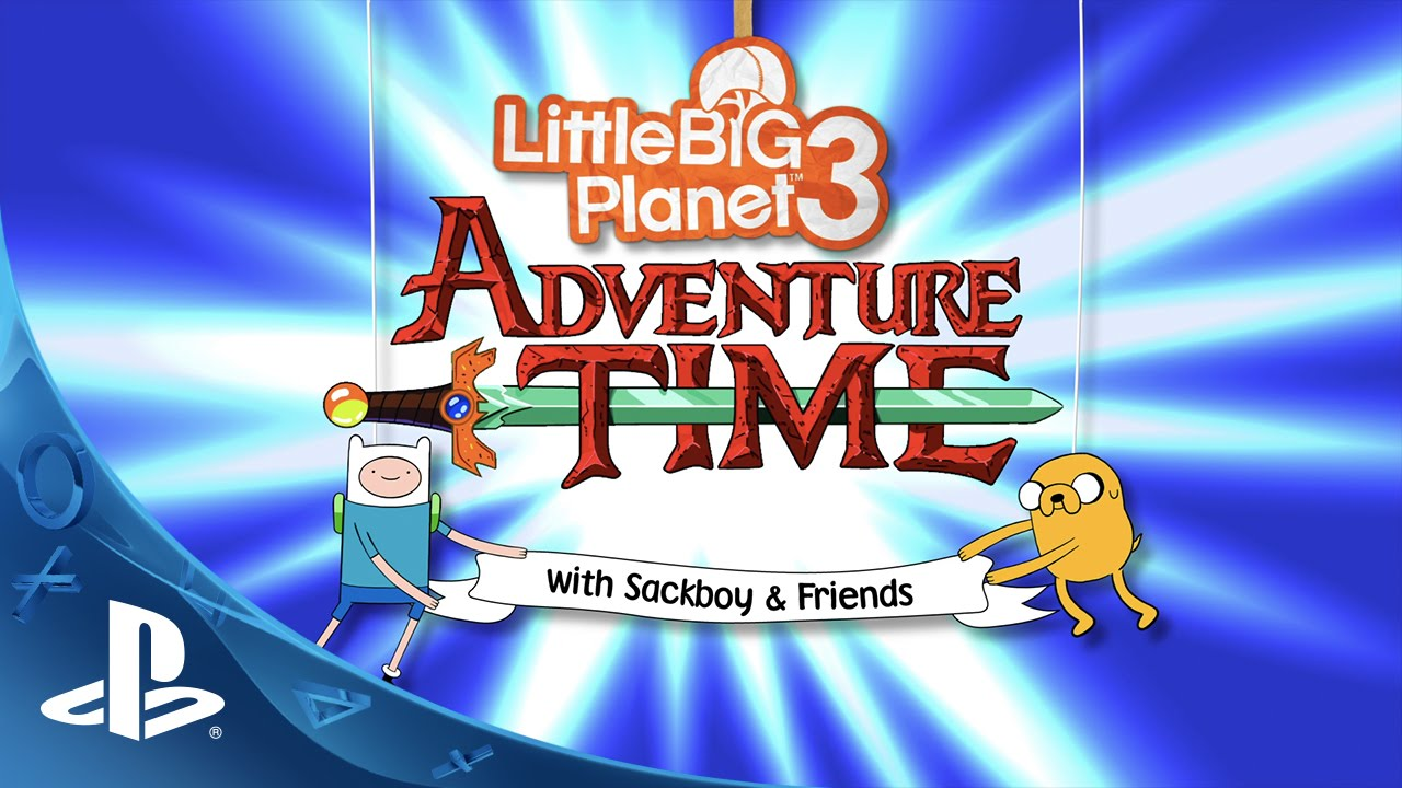 LittleBigPlanet 3: Level Kit do Adventure Time Chega essa Semana!
