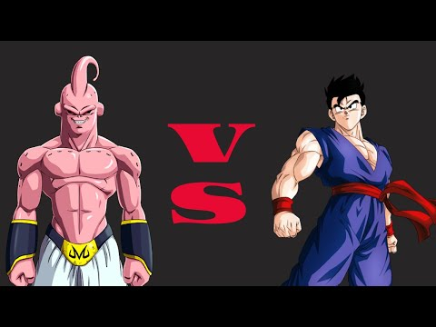 Hyper Dragon Ball Z - Majin Buu VS Gohan