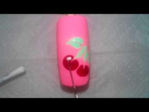 Маникюр рисунки на ногтях для новичков №11