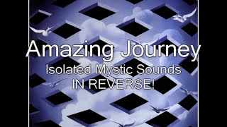 Amazing Journey Isolated - Chirps and Mystic Sounds IN REVERSE!
