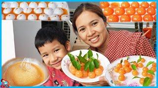 น้องบีม   ทำอาหาร EP13   วุ้นลูกส้ม ทำง่ายอร่อยด้วย