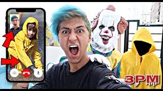 DO NOT FACETIME GEORGIE FROM IT MOVIE AT 3PM!! *OMG HE ACTUALLY ANSWERED*