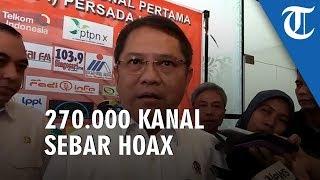 Menkominfo Sebut 270.000 Kanal Sebar Hoax Selama Kisruh Papua