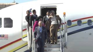 Arrival of Prime Minister Dato' Sri Mohd Najib Tun Abdul Razak, Malaysia 11/17/2015